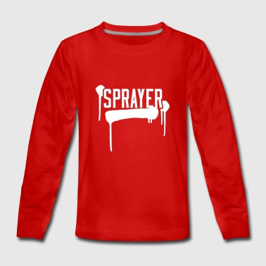 Sprayer - Teenager premium T-shirt med lange ærmer