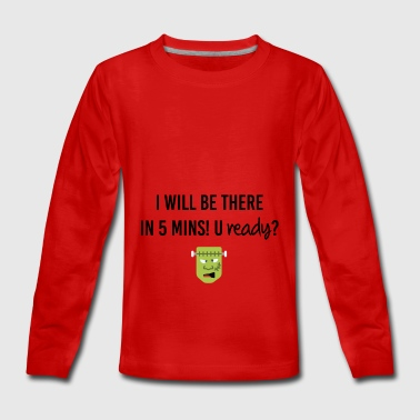 I want to be there ASAP - Teenagers' Premium Longsleeve Shirt