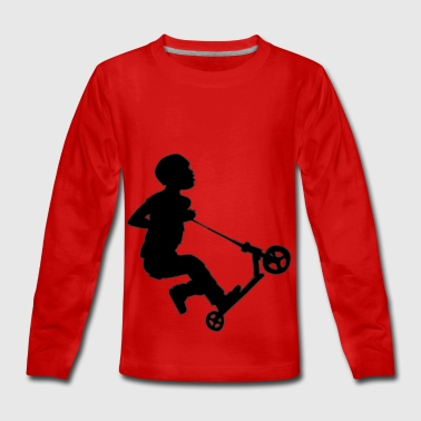 Boy freestyler - Teenagers' Premium Longsleeve Shirt