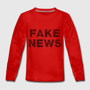 FAKE NEWS - Teenager Premium Langarmshirt