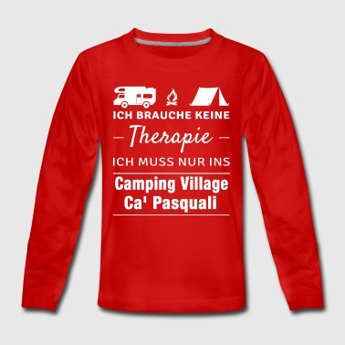 Therapie Ca' Pasquali Village - Teenager Premium Langarmshirt
