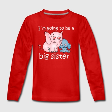 big sister - Teenagers' Premium Longsleeve Shirt