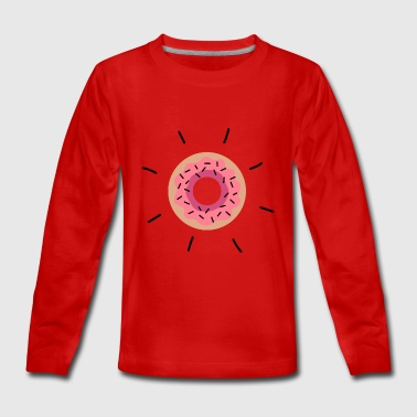 Bright donut - Teenagers' Premium Longsleeve Shirt