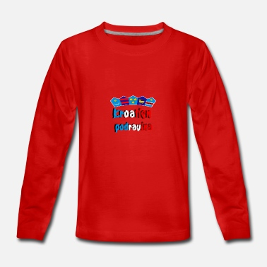 Region Croatia of the Podravina region - Teenagers' Premium Longsleeve Shirt