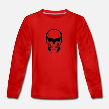 Skull skull skeleton - Teenage Premium Longsleeve Shirt