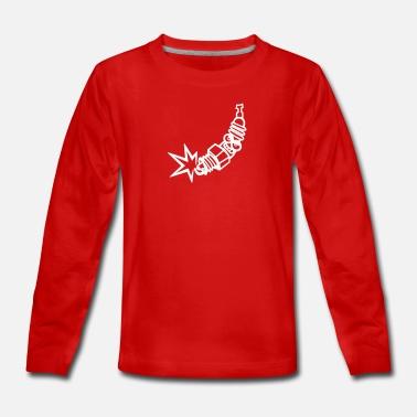 Graphic Cotton T Shirt Short & Long Sleeve Champion Spark
