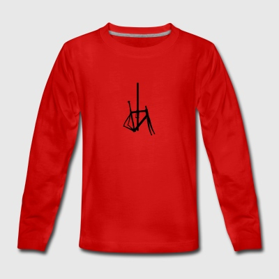Bicycle frame 5 - Teenagers' Premium Longsleeve Shirt