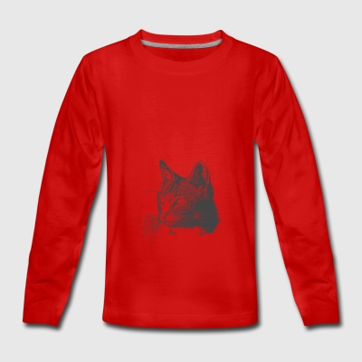 cat - Teenagers' Premium Longsleeve Shirt