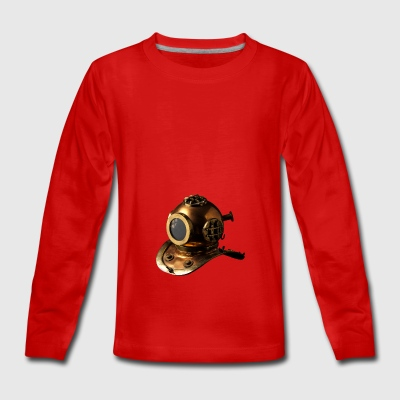 Taucherhelm - Teenagers' Premium Longsleeve Shirt
