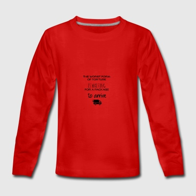 Worst form of torture - Teenagers' Premium Longsleeve Shirt