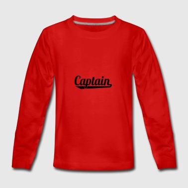 2541614 127338595 Captain - Teenagers' Premium Longsleeve Shirt