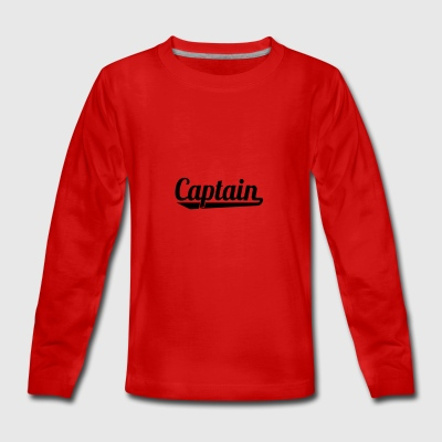 2541614 127338595 Captain - Teenager Premium Langarmshirt