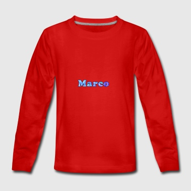 Name: Marco - Teenager Premium Langarmshirt