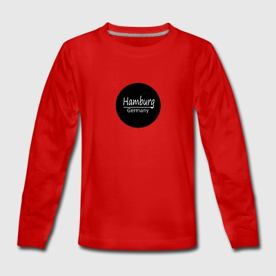Hamburg - Teenagers' Premium Longsleeve Shirt