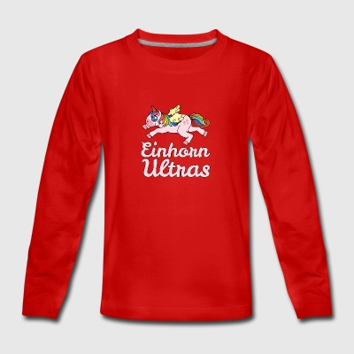 Unicorn Ultras - Teenagers' Premium Longsleeve Shirt