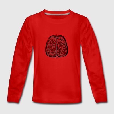 Brain - Teenagers' Premium Longsleeve Shirt