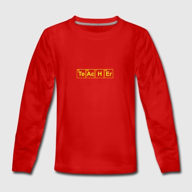 Chemistry teacher - Teenagers' Premium Longsleeve Shirt