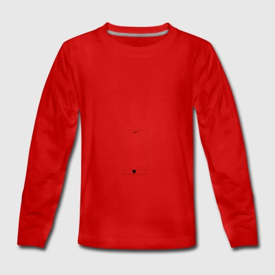 Handy - Teenager Premium Langarmshirt