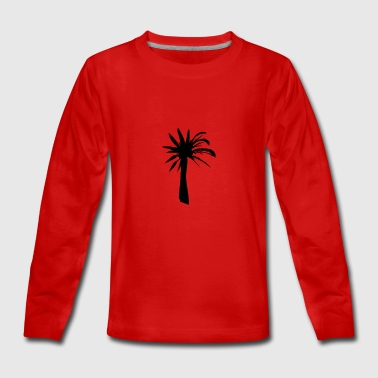 Palm tree - Teenagers' Premium Longsleeve Shirt