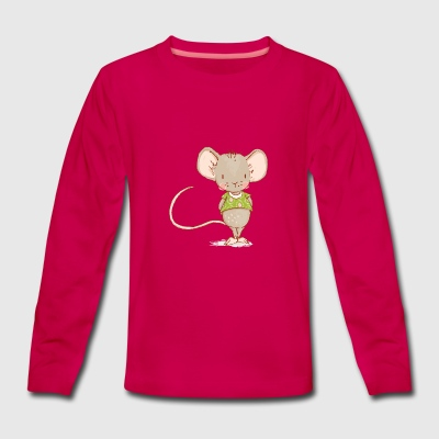 mouse - Teenagers' Premium Longsleeve Shirt