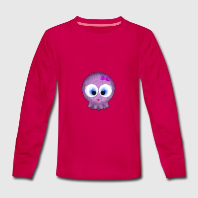 Love Baby Squid - Teenagers' Premium Longsleeve Shirt