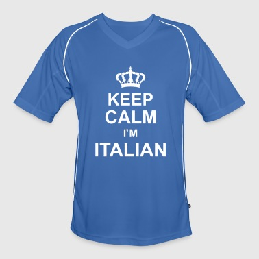 keep_calm_I'm_italian_g1 - Men's Football Jersey