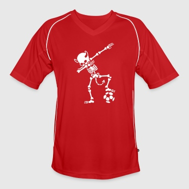 Duivel Dab Dabbing Rode Duivels / Diable Rouge soccer - Men's Football Jersey