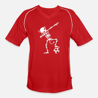 Diables Rouge Dab Dabbing Rode Duivels / Diable Rouge soccer - Maglia da calcio uomo