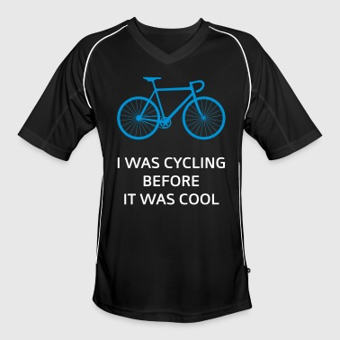 I Was Cycling Before It Was Cool - Fotballdrakt for menn