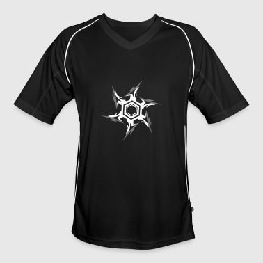 Ninja throwing star - Men's Football Jersey