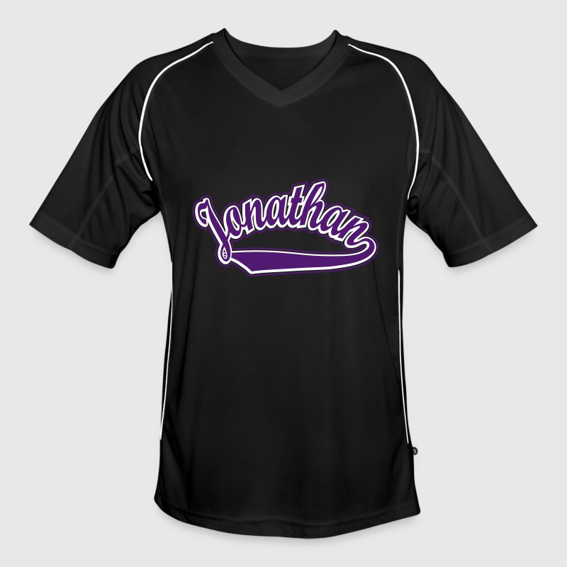 Jonathan - T-shirt Personalised with your name - Men's Football Jersey