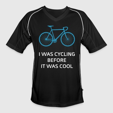 Fixed Gear Bike I Was Cycling Before It Was Cool - Camiseta de fútbol hombre