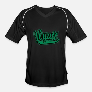 Wyatt Wyatt - T-shirt personalised with your name - Men's Football Jersey