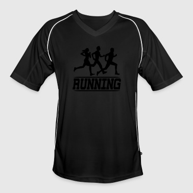 running joggers - Men's Football Jersey
