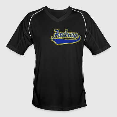 Andrew - Name as a sport swash  - Men's Football Jersey