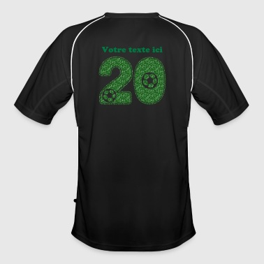 foot numero 20 - Maillot de football Homme