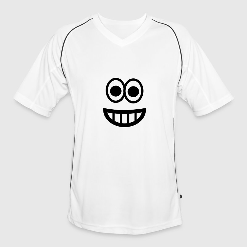 Very happy Emoji - Maillot de football Homme