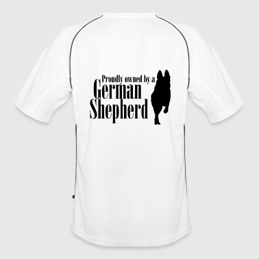 Shepherd Proudly Owned by GSD - Men's Football Jersey