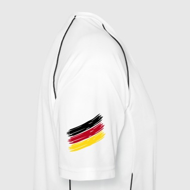 NATION Stripes - CHOOSE UR OWN COUNTRY COLORS! - Männer Fußball-Trikot