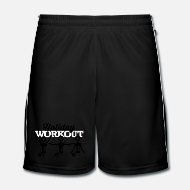 Workout Holiday workout corkscrew - Mannen voetbal shorts