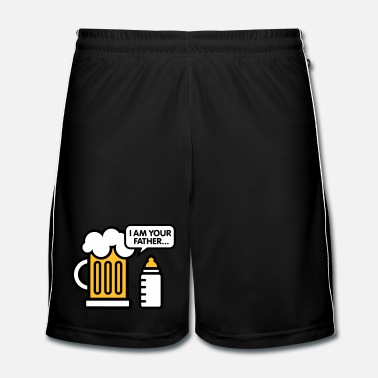 Zwangere I am your father - Mannen voetbal shorts