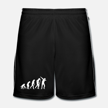 Beweging Evolution Dab / Dabbing - Mannen voetbal shorts