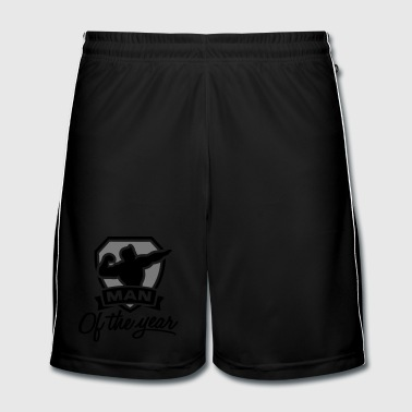 Man of the year 2 clr - Fotballshorts for menn