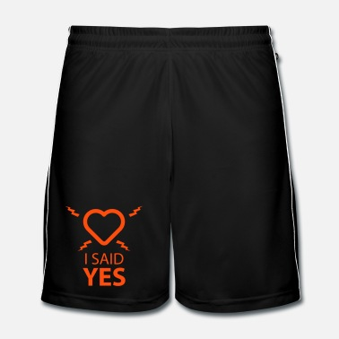 Stag Do I SAID YES ... - Men's Football shorts