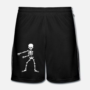 Floss like a boss flossing dancing skeleton - Men's Football shorts