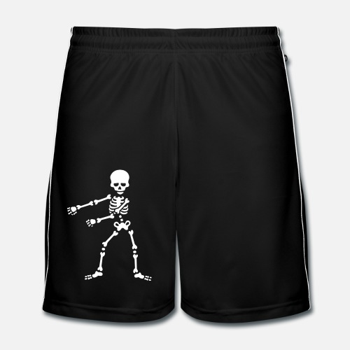 Floss like a boss flossing squelette dansant Short de football Homme ... e229f912755