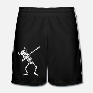 Heavy Metal Skeleton Dab Dabbing Viking - Short de football Homme
