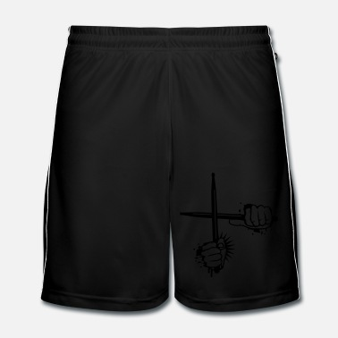 Bâton Baguettes batteries - Short de football Homme