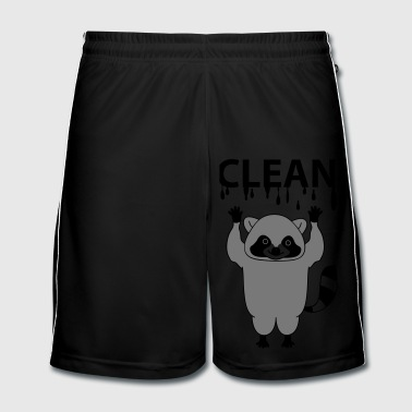 clean - Fotballshorts for menn