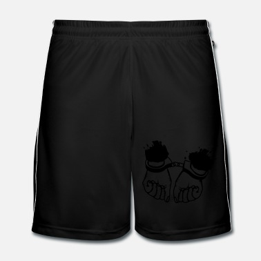 Police Hands and handcuffs - Men's Football Shorts